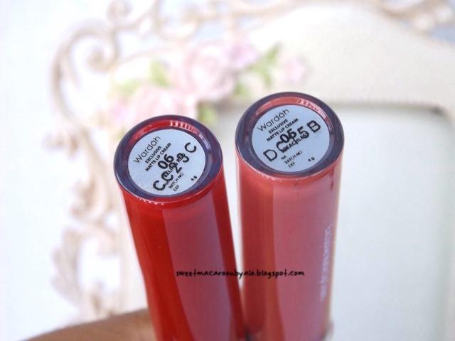Wardah Exclusive Matte Lip Cream no 06 (Feeling Red), Health & Beauty,
