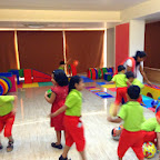 Ball Bouncing Activity - Sr KG at Witty World