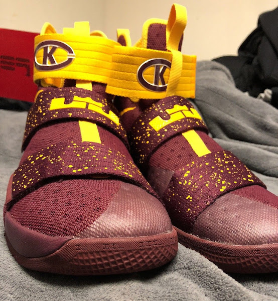 First Look  Nike LeBron Soldier 10 Christ the King PE