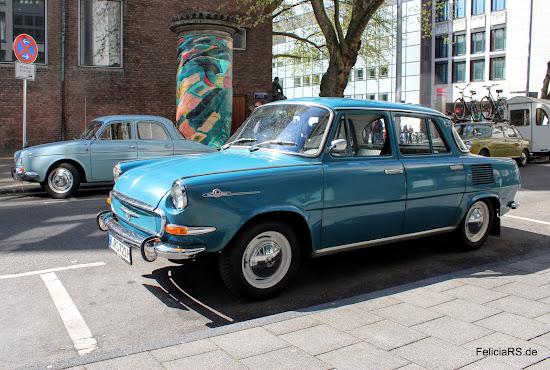Škoda 1000MB und eine Renault Dauphine