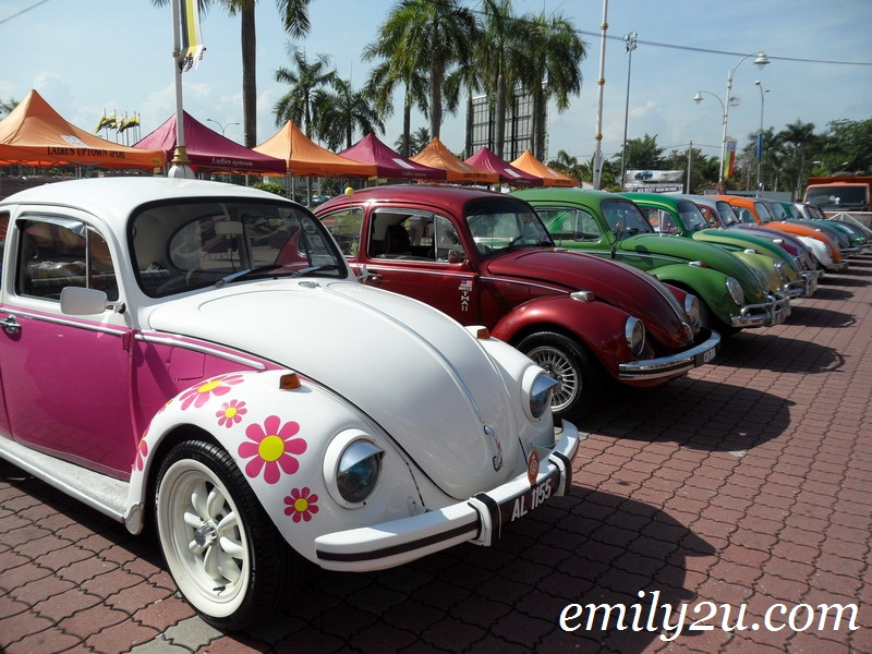 Volkswagen Beetles In Ipoh