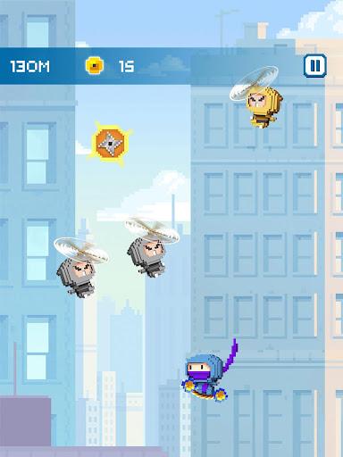Ninja Up! - Endless arcade jumping  screenshots 12