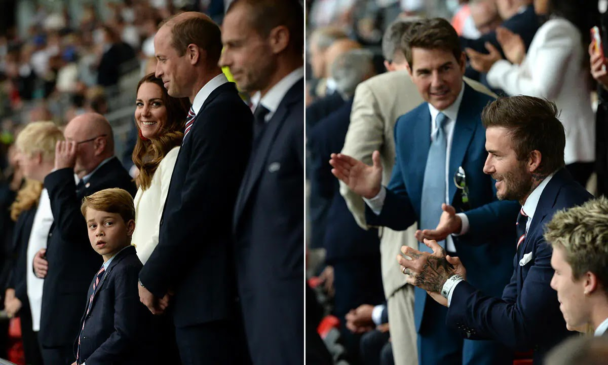 Kate Middleton and Prince George's Behind-the-Scenes Video with Tom Cruise Shows Just How Relatable the Royals Are