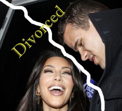 Kim kardashian fells nervous over kris Humphries divorce issues