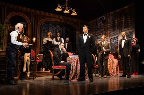 The Sting at Paper Mill Playhouse_Photo 1