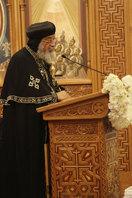 His Holiness Pope Tawadros II visit to St. Mark LA - _MG_0595.JPG
