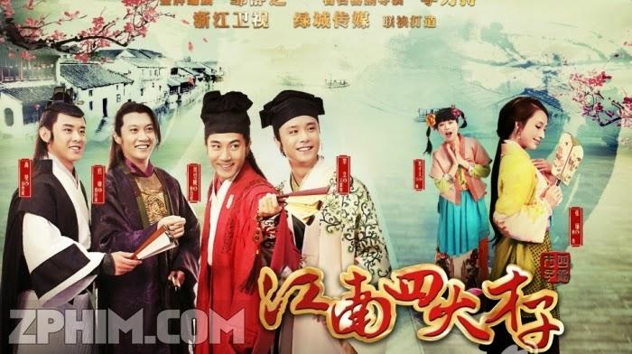 Ảnh trong phim Giang Nam Tứ Đại Tài Tử - The Four Scholars of Jiangnan 1