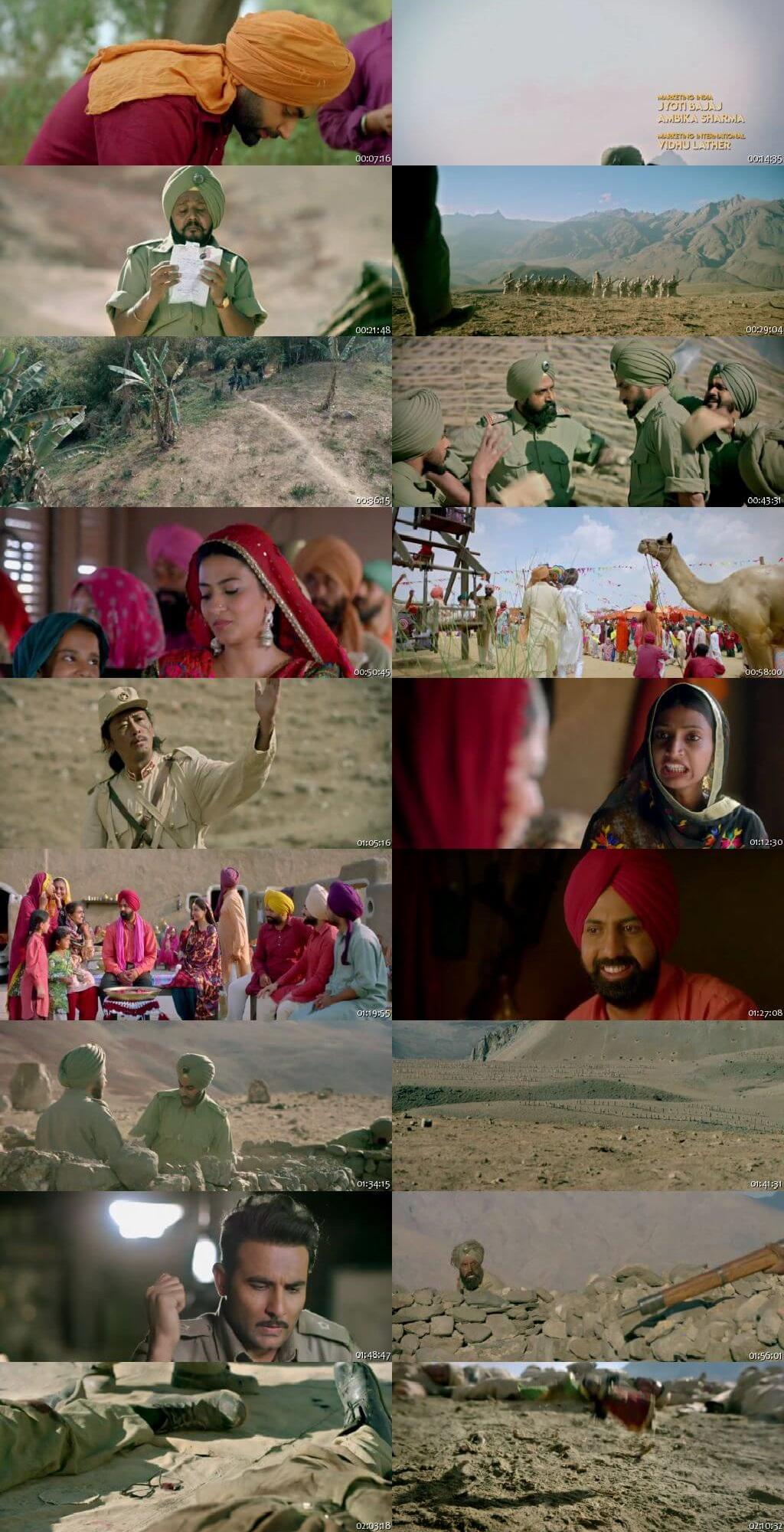 Screen Shot Of Subedar Joginder Singh 2018 Full Movie Free Download HD 720P Watch Online