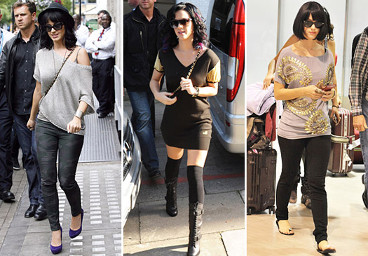 Famous Style Katy Perry