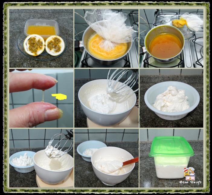 Sorvete de gengibre e limão siciliano 5