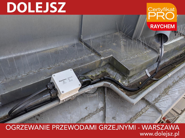 Ogrzewanie rur spustowych Warszawa