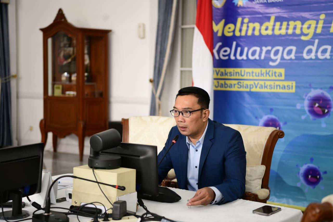 Ridwan Kamil : Varian Delta Ada di Jabar
