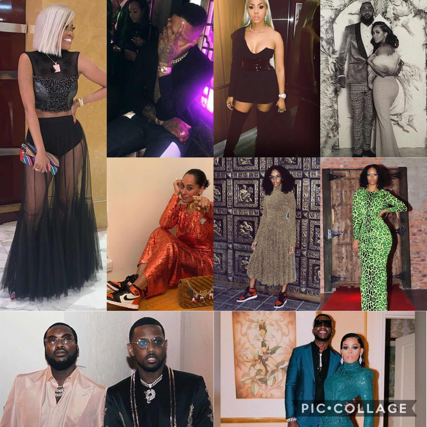Favorite Celebrity New Year's Eve Looks!