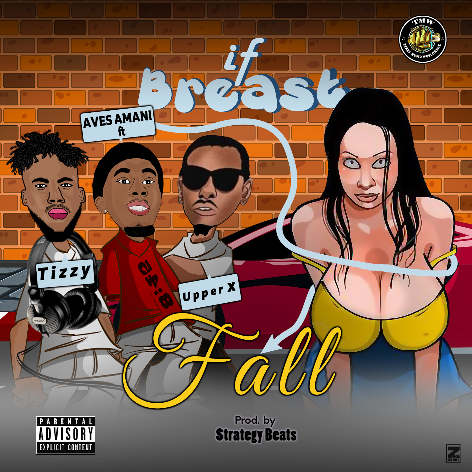 [Music] Aves Amani ft Upper X & Tizzy - If Breast Fall