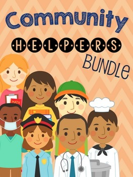 Community Helpers Interactive Books Bundle Image