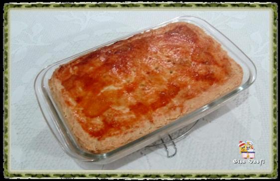 Torta de pêssegos do seriado 1