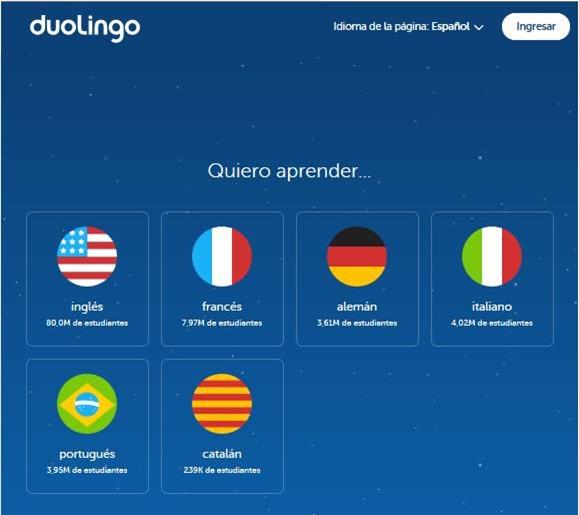 Abrir mi cuenta Duolingo - 535