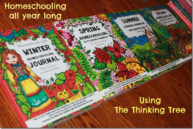 Homeschooling all year long using The Thinking Tree
