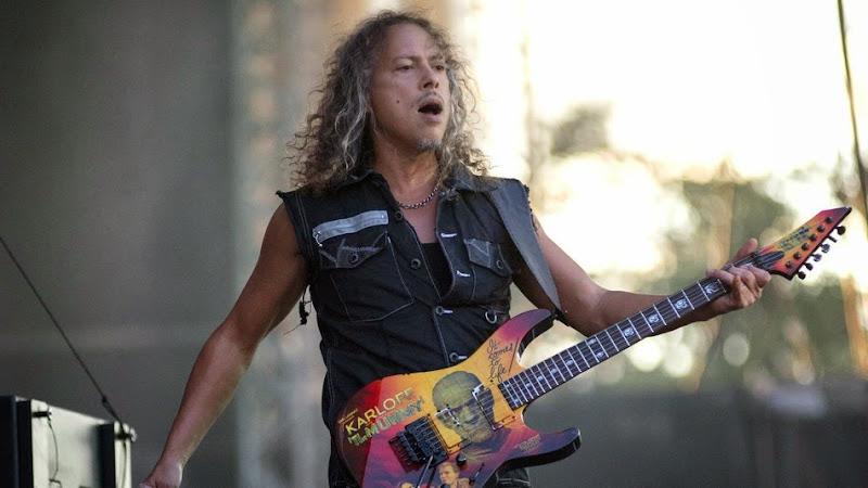 Metallica-guitarist Kirk Hammett loses iPhone containing 250 riffs