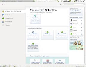 Thunderbird 5.0 desde repositorio y Compose 0.2