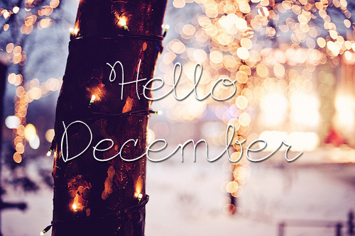 Greetings, December