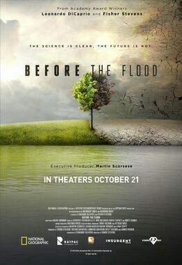 Before the Flood, A must watch Documentary for everyone
