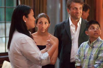 Keiko Fujimori, the daughter of Peru's former president Alberto Fujimori. Owner of house Leon Temiz, owner of Electronics Expo with his family.
