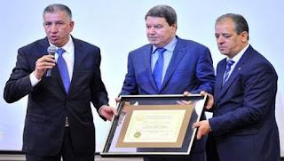 Abdelghani Hamel honoré par la Fédération internationale anti-corruption sportive
