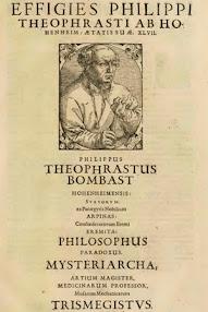 Cover of Paracelsus's Book Chirurgische Bucher und Schrifften (in German, Latin)