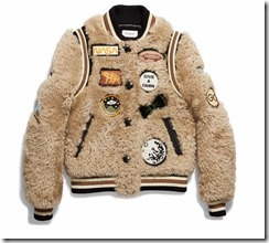 20223_Shearling Varsity Jacket with Patches