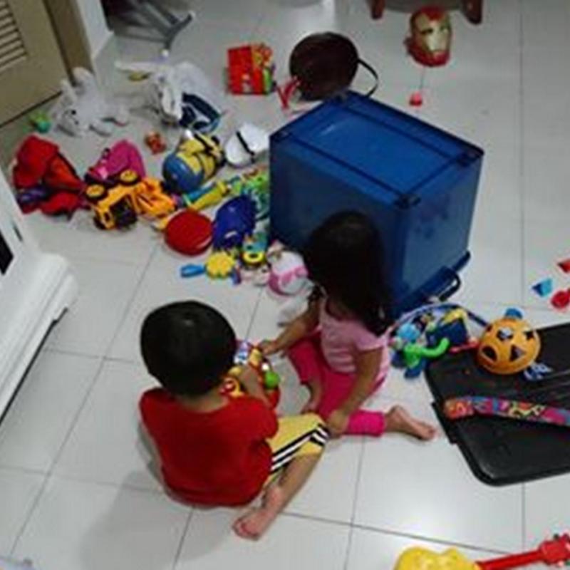 Sabar dalam mendidik anak–anak !