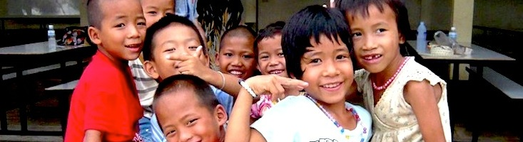 photo of thai kids