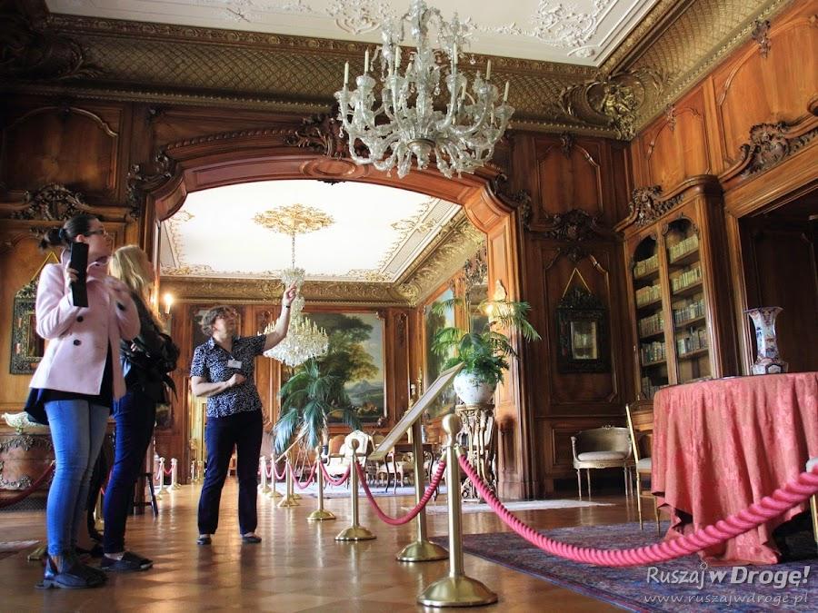 Wnętrza Pałacu w Pszczynie