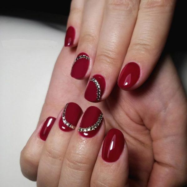 Latest Red Nail Designs-Cute Nail Art Ideas 1