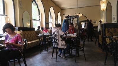 Cafe Tirolerhof inside