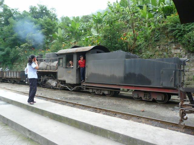 une ligne pour le charbon,une ligne pour les voyageurs