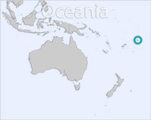 Samoa location map