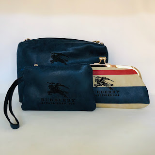 Burberry Pouch Set