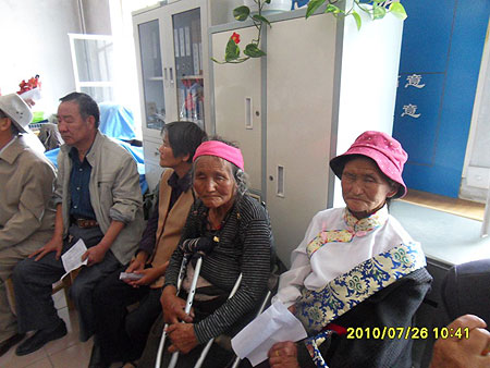 First patients awaiting cataract surgery July 2010