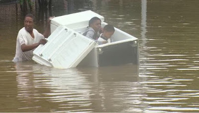 Eight dead in historic Houston Floods
