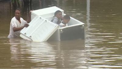 Eight dead in historic Houston Floods