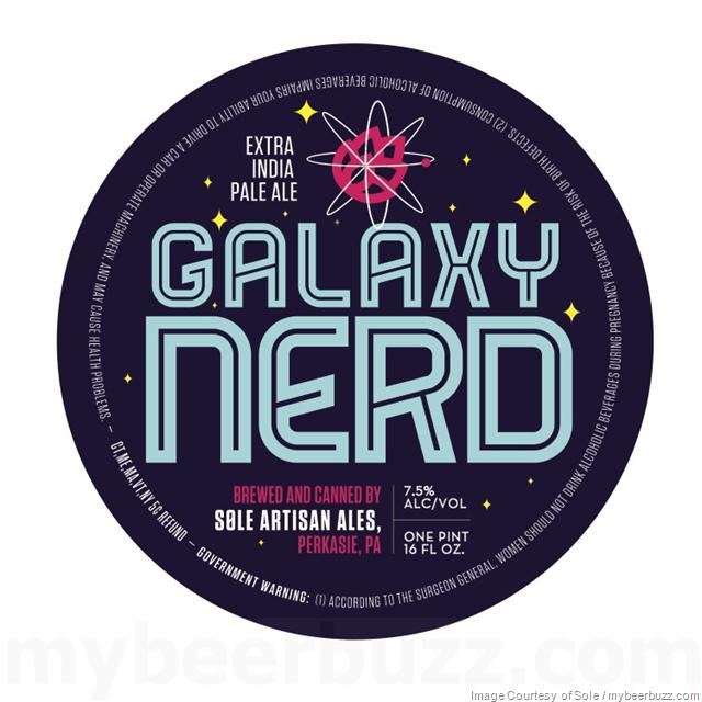 Sole Artisan Ales - Galaxy Nerd 16oz Cans