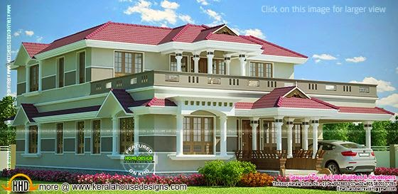 Grand Kerala home design