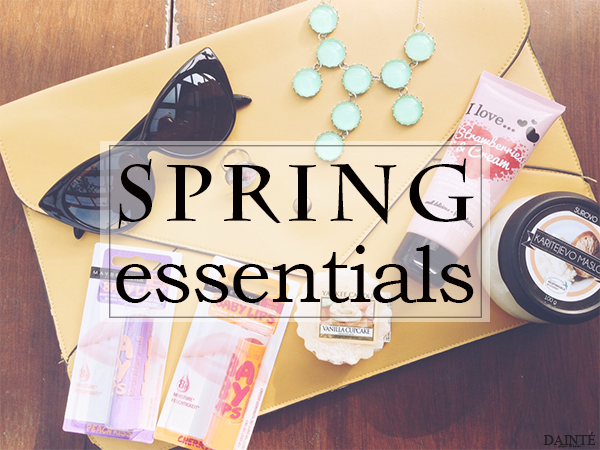 spring essentials giveaway must have