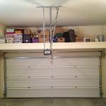 Wall And Garage Storage Deck