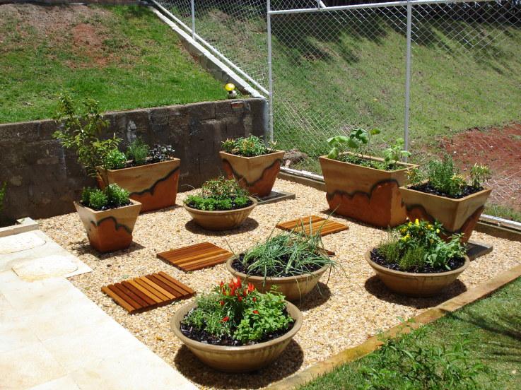 jardim fundo quintal : jardim fundo quintal:Ter uma horta em casa deixou de ser coisa de fundo de quintal