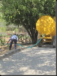 Water tanker at Anokhi