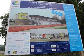 Stade bigouden - Travaux