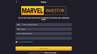 Marvelinvestor Com Penghasil Uang Apakah Aman?