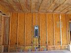 Breaker panel in garage before drywall. 4/27/15
